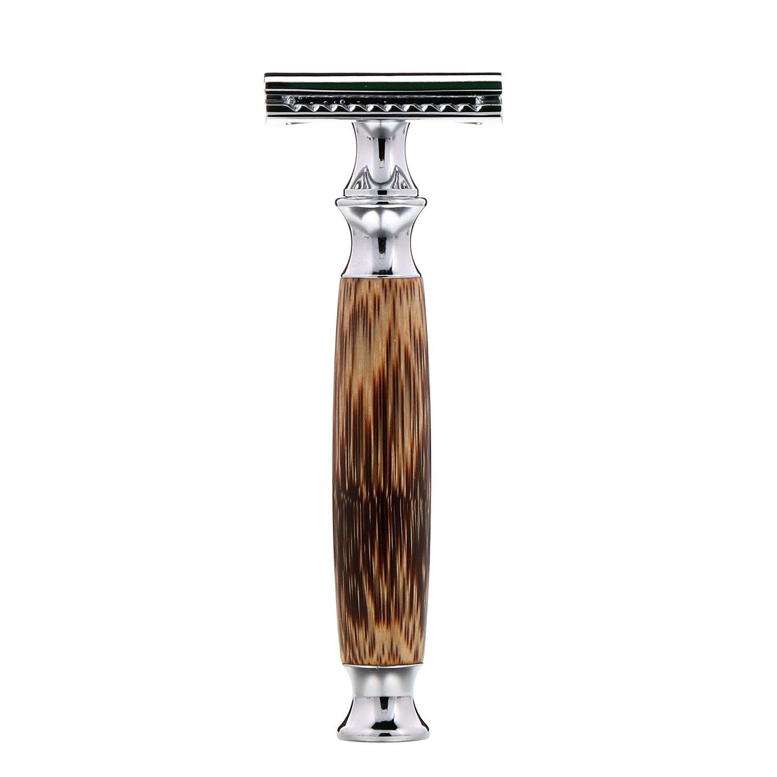 Wowe Double Edge Safety Razor With Bamboo Handle 1 Razor 5 Blades Bamboo Handles Safety Razor Biodegradable Products