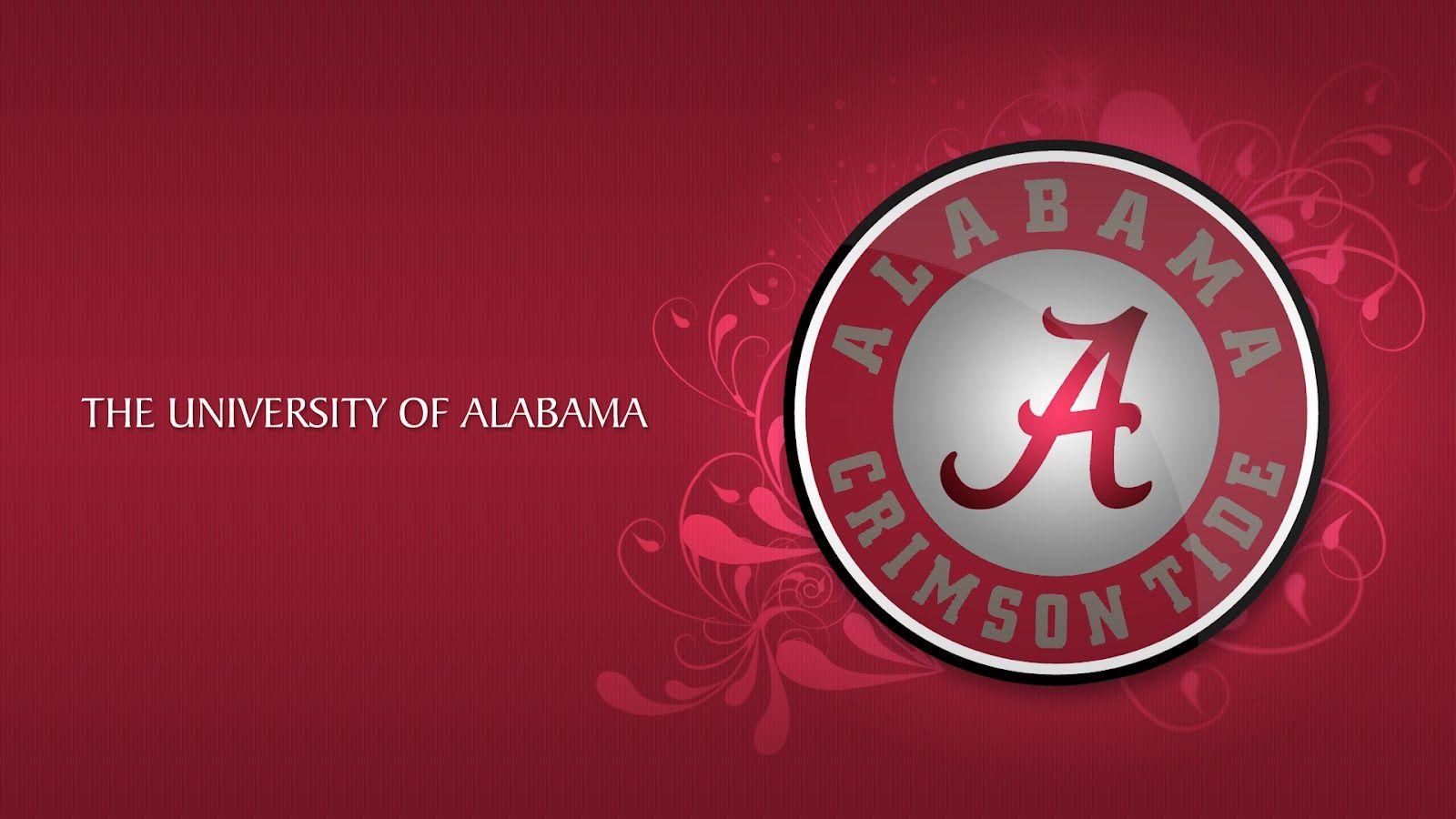 University Of Alabama Crimson Tide Alabama Crimson Tide Logo Alabama Crimson Tide Alabama Crimson Tide Football Wallpaper