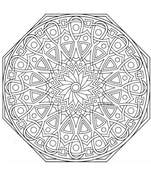 Mandalas Para Pintar: mandalas para colorear | Hobbies - Coloring ...