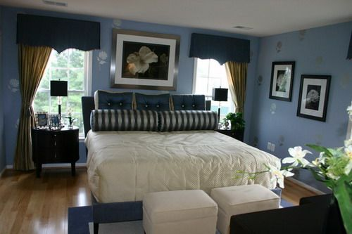 What Color Curtains Go With Blue Walls Makipera  What Color Curtains With Blue  Walls Makipera. Curtains For Blue Walls
