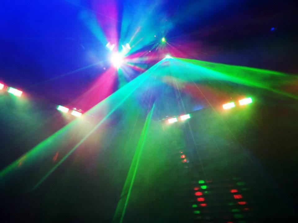 Space Junkie light show