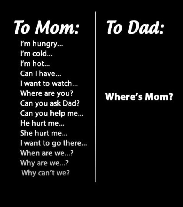 To: Mom To: Dad Isn't this the truth?!?!