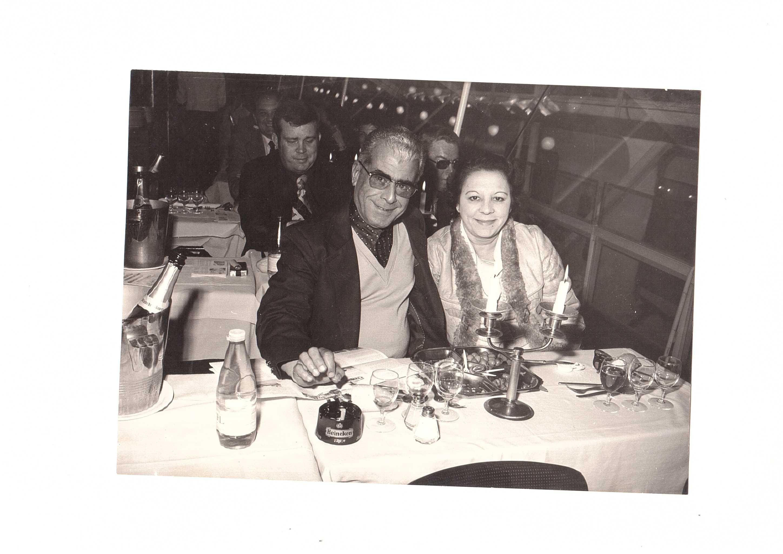 Minha mãe e meu pai... uma noite em Paris...