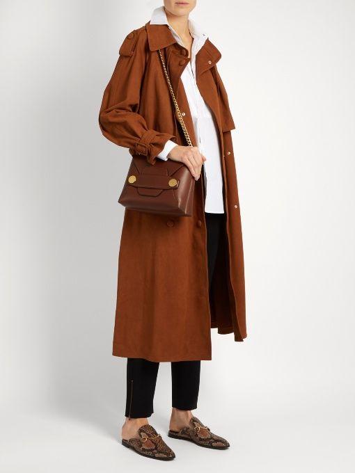 b91a55ddac38 Stella McCartney Stella Popper small faux-leather cross-body bag