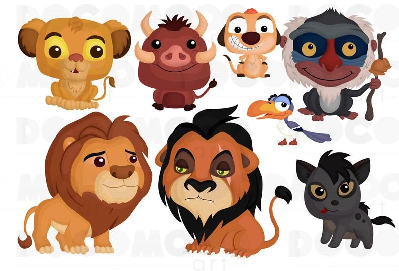 King Of Animal Clipart Cute Lion Clip Art Cute Animal Etsy In 2021 Cute Lion Cute Disney Drawings Animal Clipart