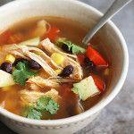 Baja Chicken Soup