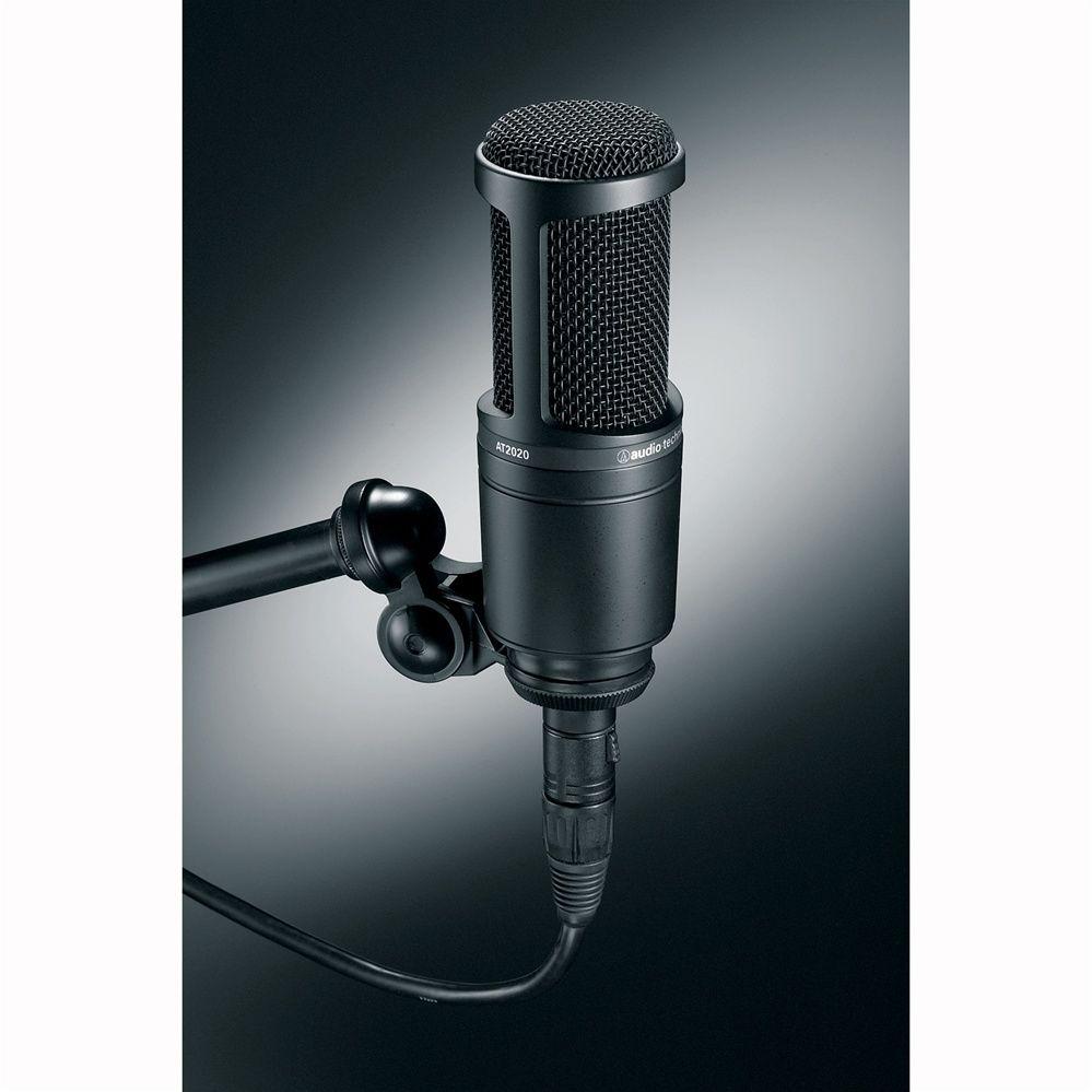 Audio Technica At2020 Microphone Microphone Audio Technica Recording Microphone