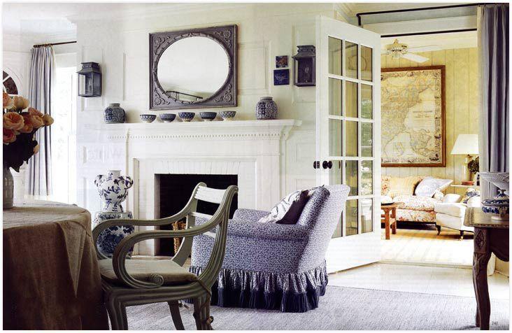maison decor: anna wintour's home: fabulous long island hideaway
