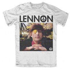 John Lennon Flower Eye T-Shirt BY Live Nation