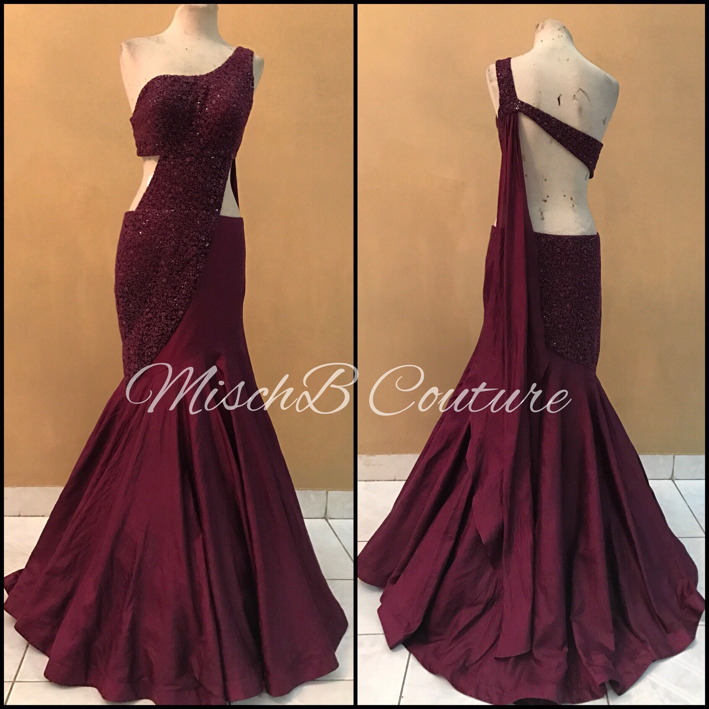 The Minimalist, saree gown by MischB Couture   For the love of ...