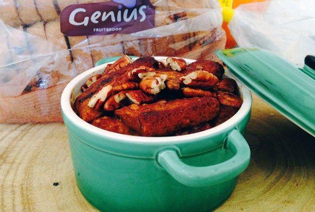 glutenvrije broodpudding zonder suiker