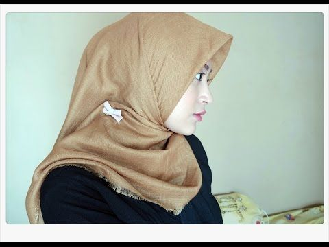 Hijab tutorial simple paris segiempat youtube.
