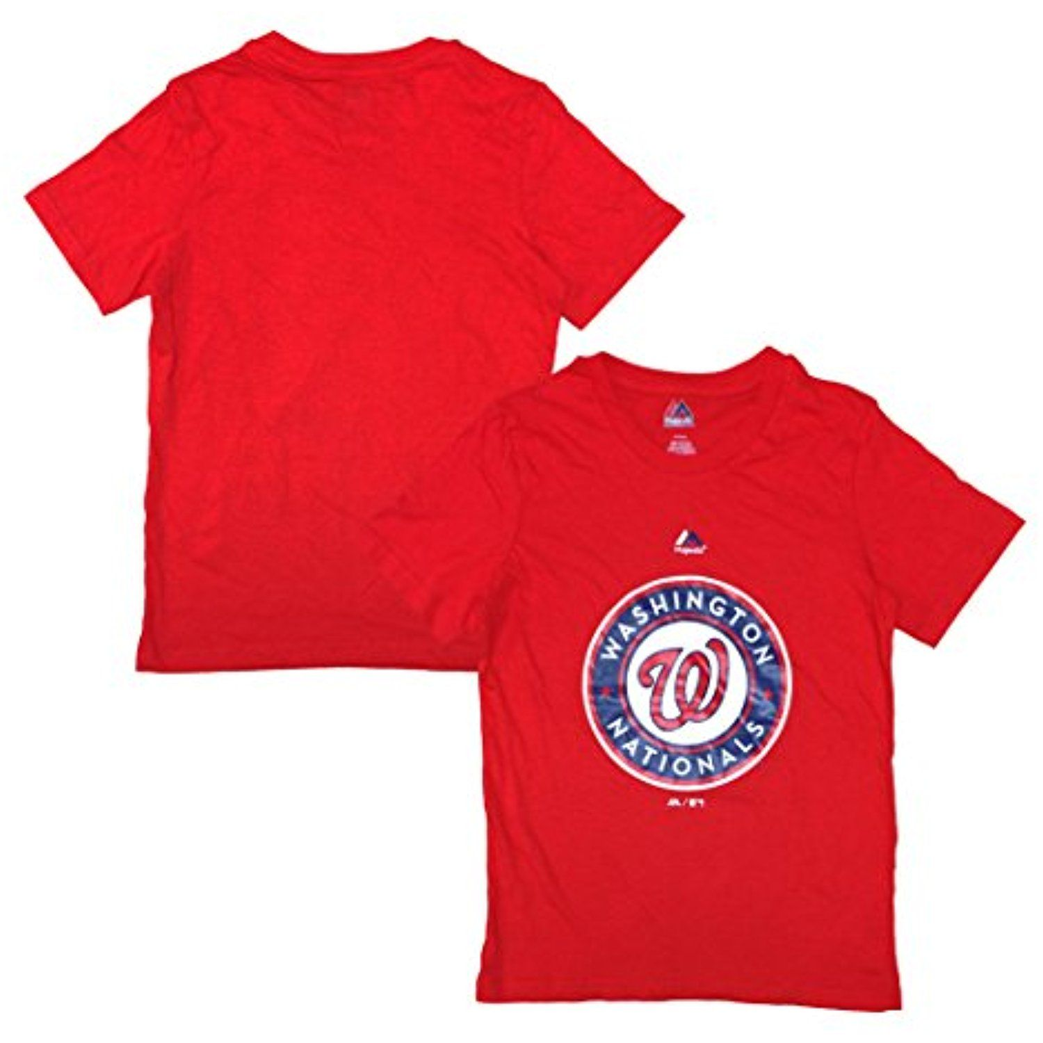 MLB Boys Youth 8-20 Team Color Official Primary Logo T-Shirt
