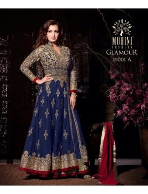 6aca6ba9b1 MOHINI COLLECTION DESIGNER PARTY WEAR DRESS | Fashionfem | Anarkali ...