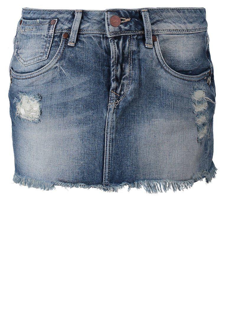 f02237e2f Pepe Jeans LUNAR Denim skirt 000 | Denim Skirts | Denim skirt, Jeans ...