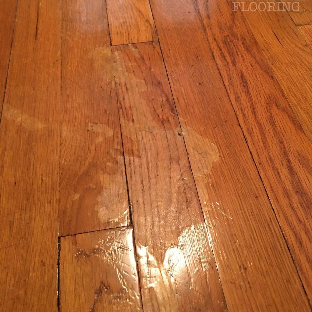 Hardwood Floor Polyurethane Peeling