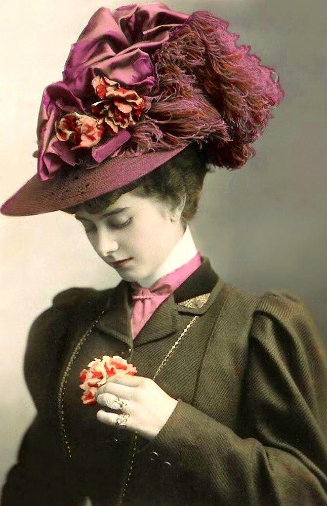 ladies victorian hats - photo #32