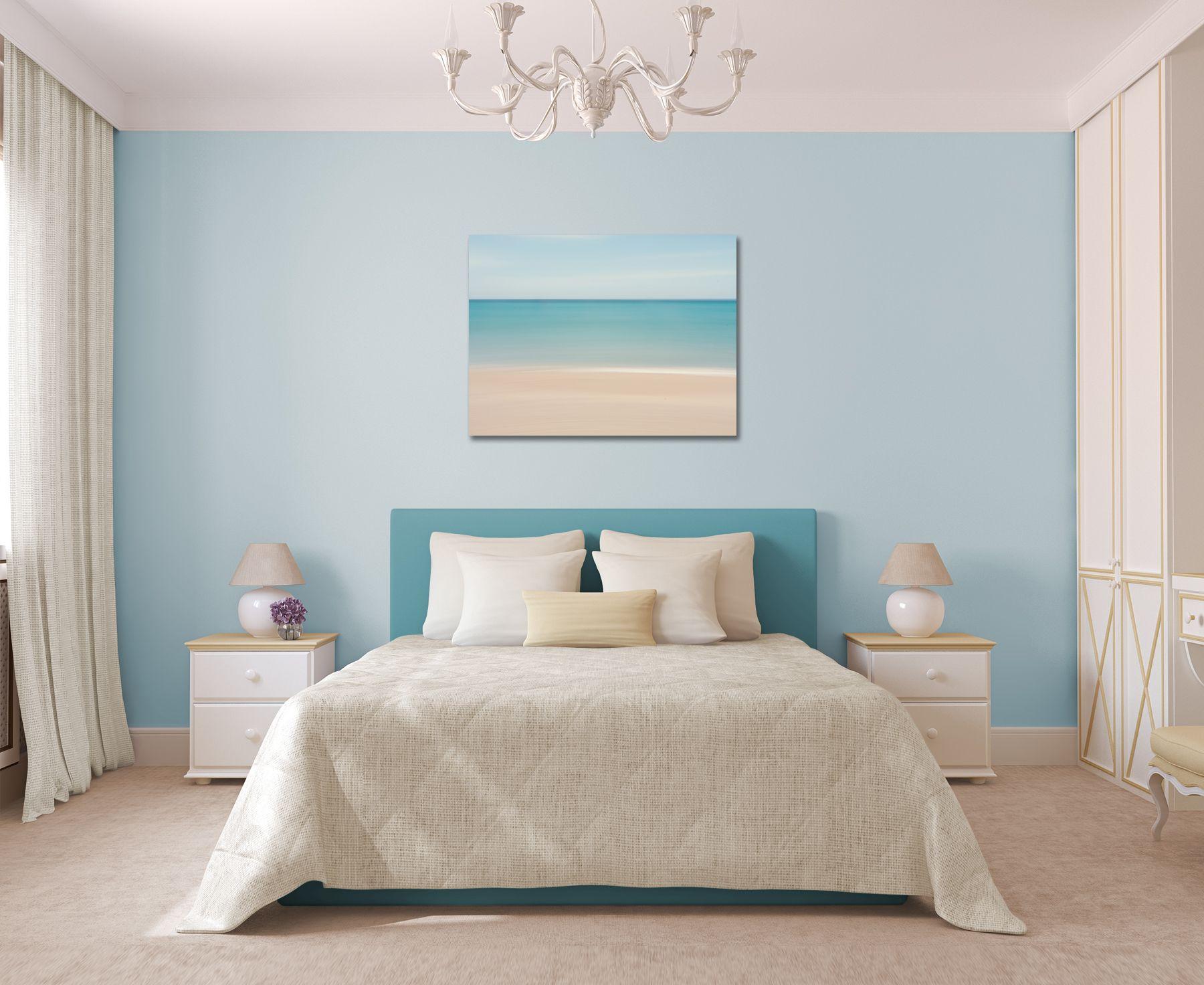 Beach Decor Canvas Gallery Wrap Abstract Ocean Photo Large Etsy Wall Decor Bedroom Beach Wall Art Decor Bedroom Decor