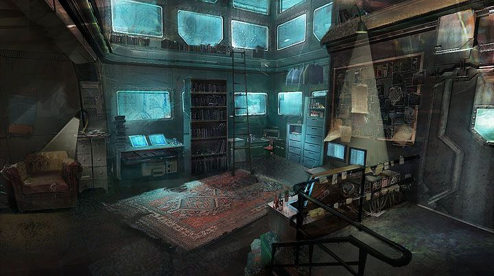 Interior Of Lab Picture 2d Environment Room Science