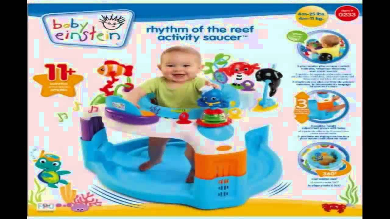 071e14043 Baby Einstein Rhythm of The Reef Activity Saucer Review
