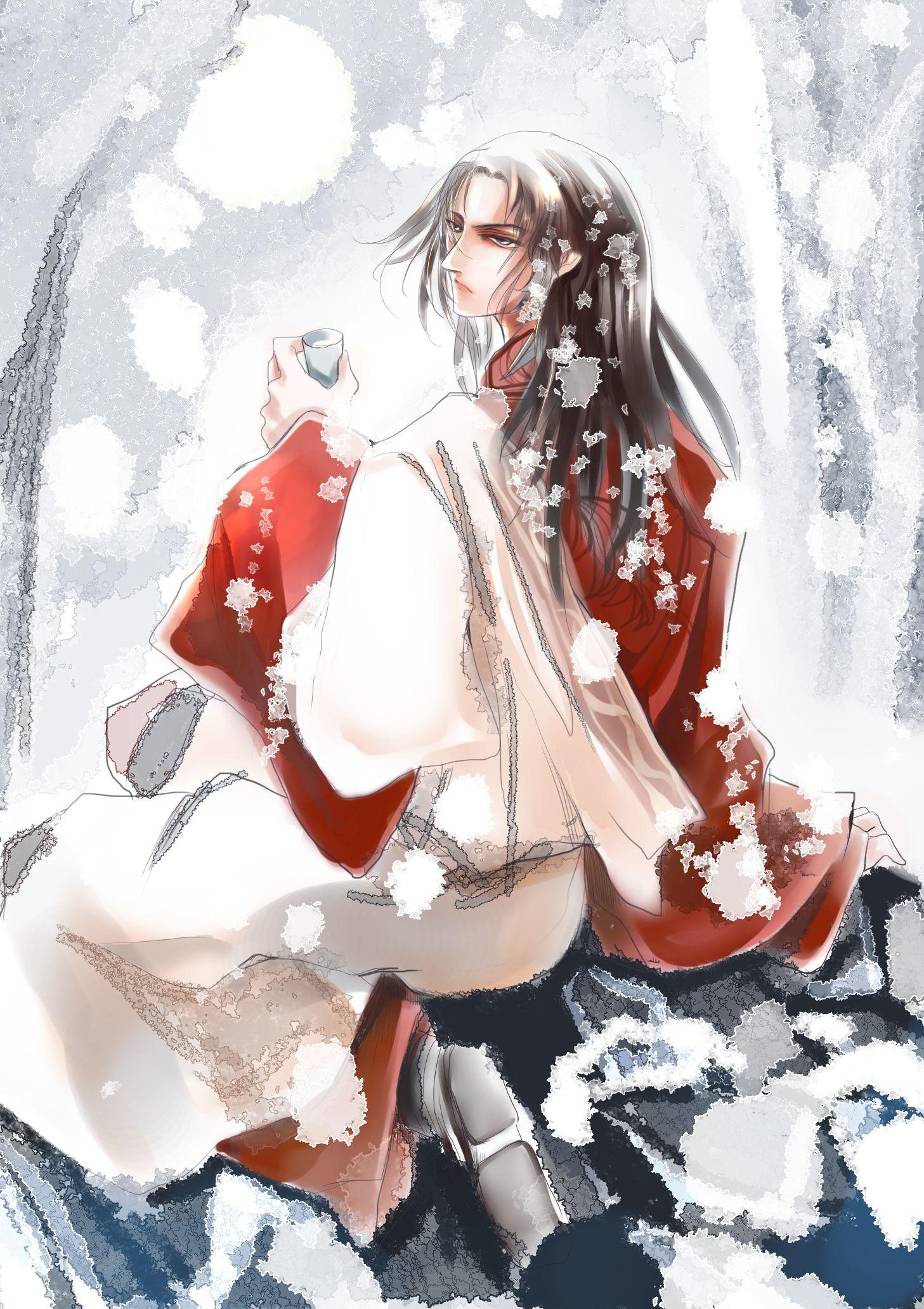 公謹 月下独酌, dynasty warriors , shin sangoku musou, pixiv, zhou yu