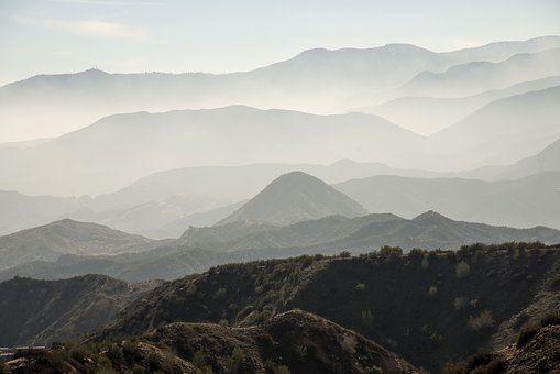 Paysage, Scénique, Misty, Montagnes