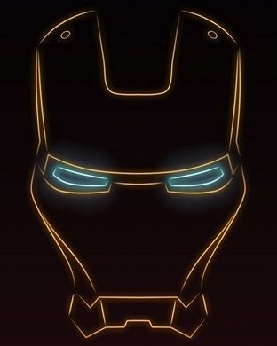 Marvel S Ironman Face As Background Screen For Apple Watch If You