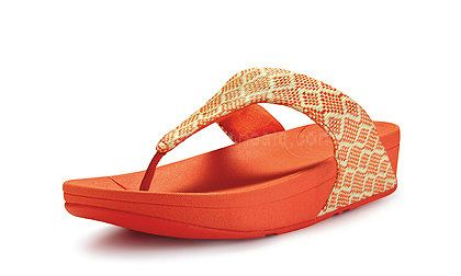 7319514a7 Womens Sandals Fitflop Palma Orange Shoes   Cheap Fitflop Shoes UK Sale
