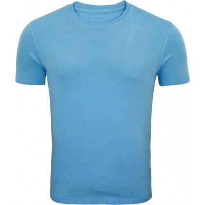 d23d6706 Skyblue Color plain Round Neck T-shirts for Men,Attractive sky Blue Color  Roundneck