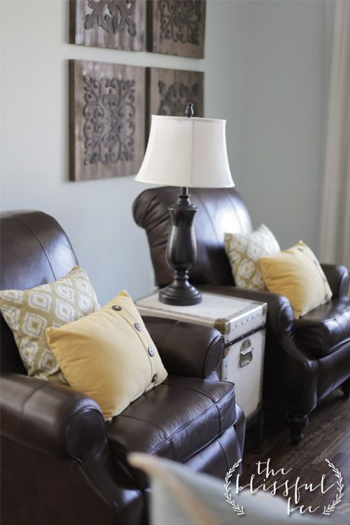 living room with two recliners & two couches | home inspiration