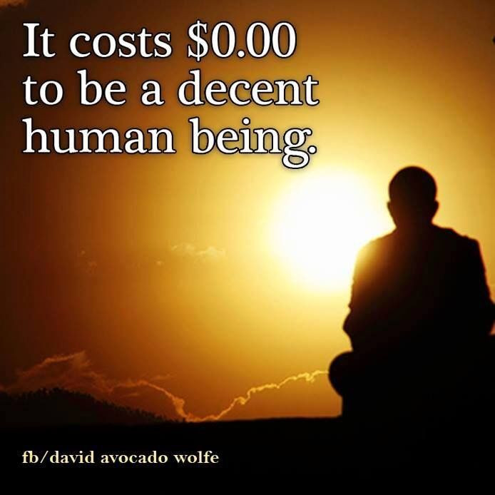 Decent Human Being Hmmmmmmm Wisdom Quotes Life Quotes