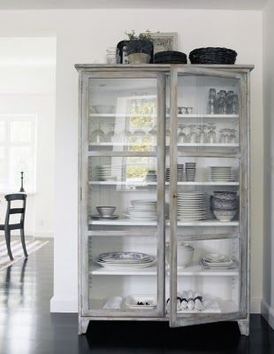 Free-standing storage for dinnerware. & Free-standing storage for dinnerware. | A Place for Everything ...