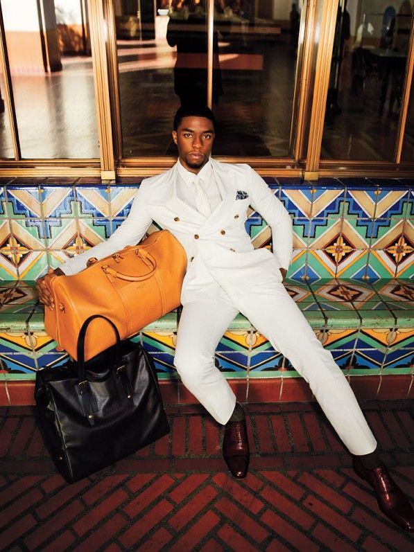 Chadwick Boseman for TIMES Style & Design 2013