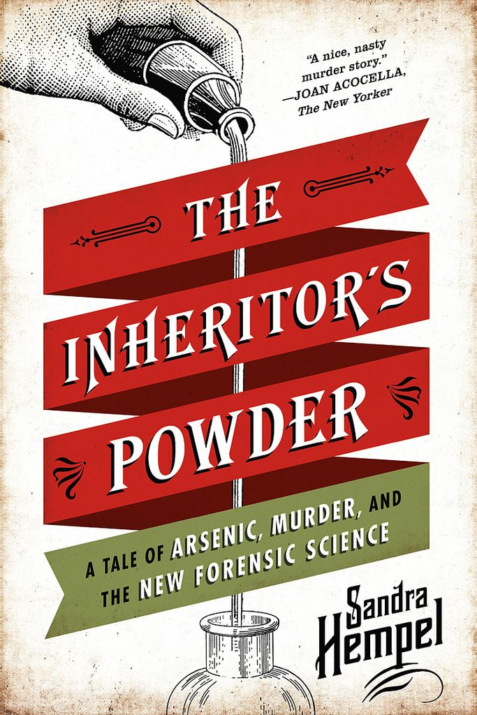 The Inheritor's Powder cover design by Pete Garceau (W. W. Norton / 2014)