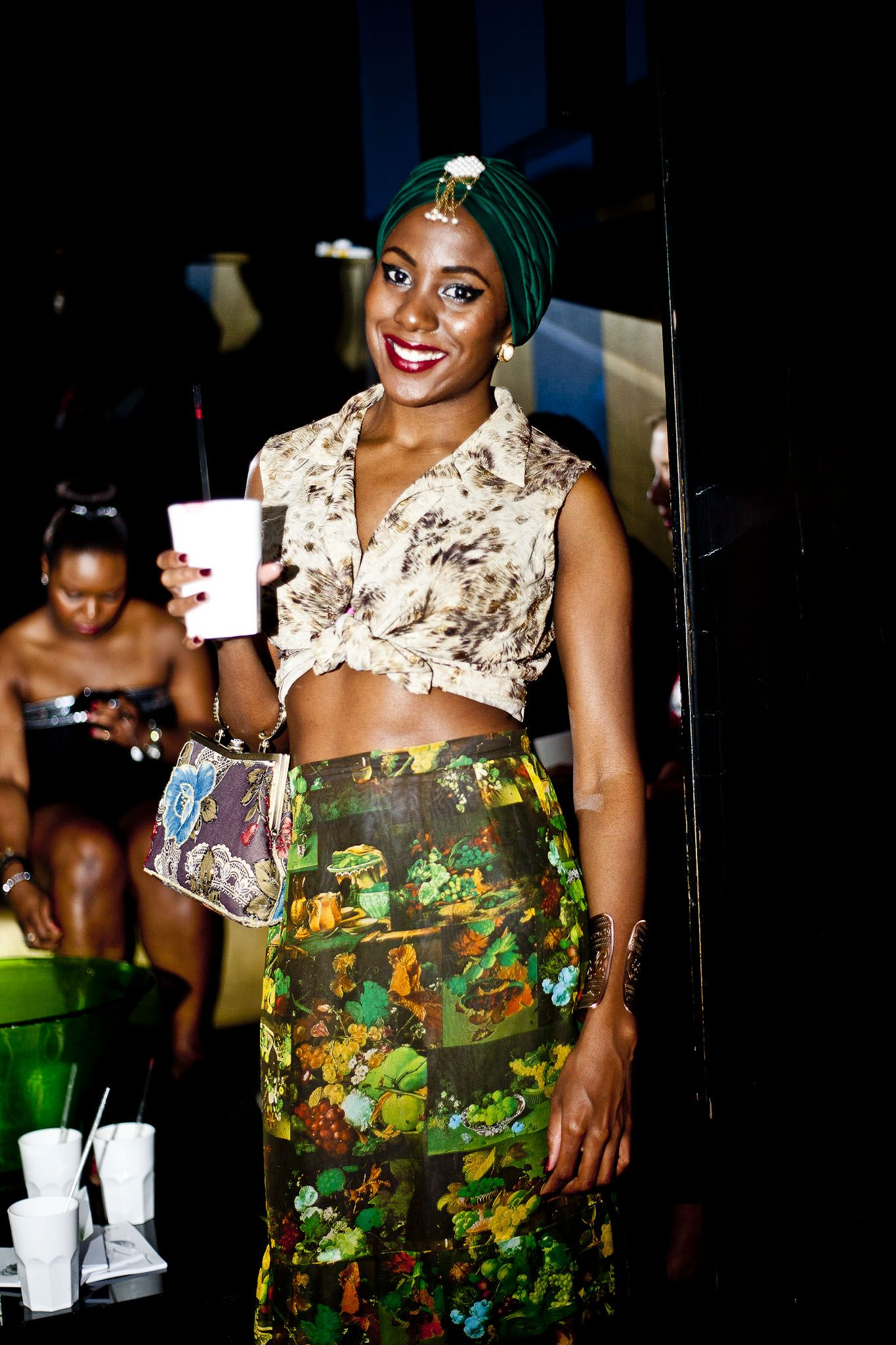 #Natalie May at #interntostylist launch #party at #whiskymist