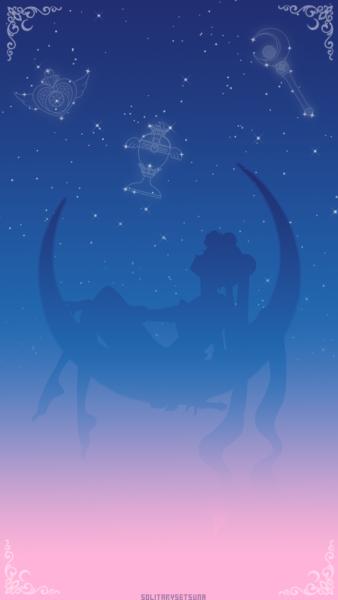 Sailor Moon lockscreen.