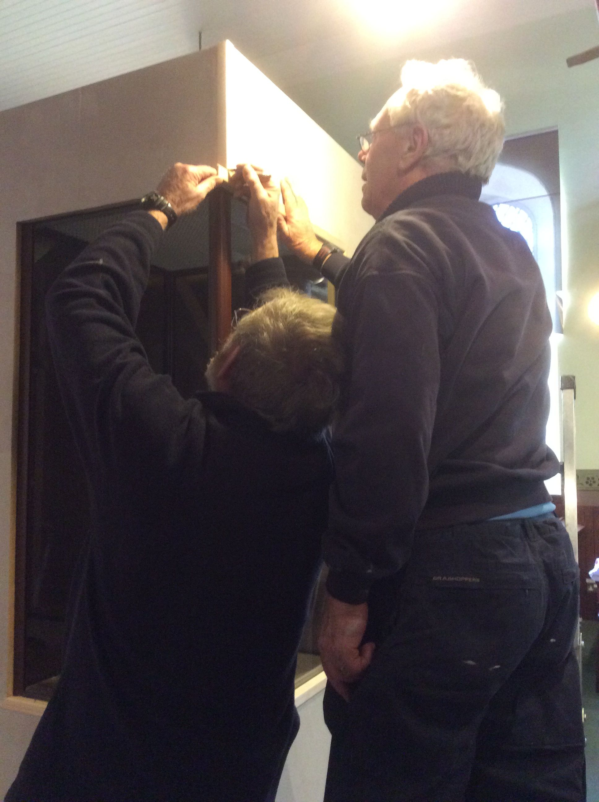 Careful attention to detail from Don and Ian