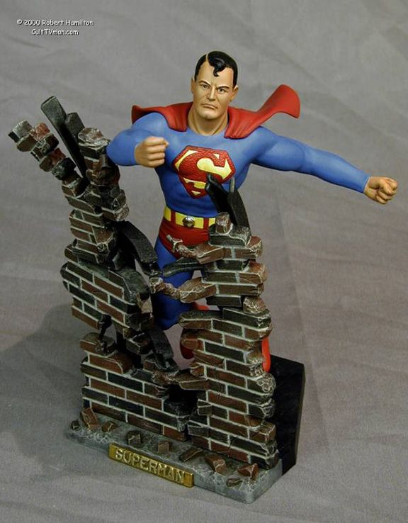Superman Action Figure from the 1970s   Old school stuff ...