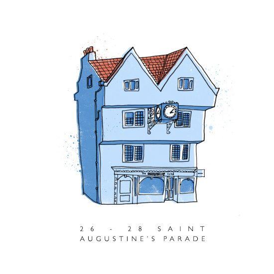 Tim Sutcliffe's Bristol building illustrations