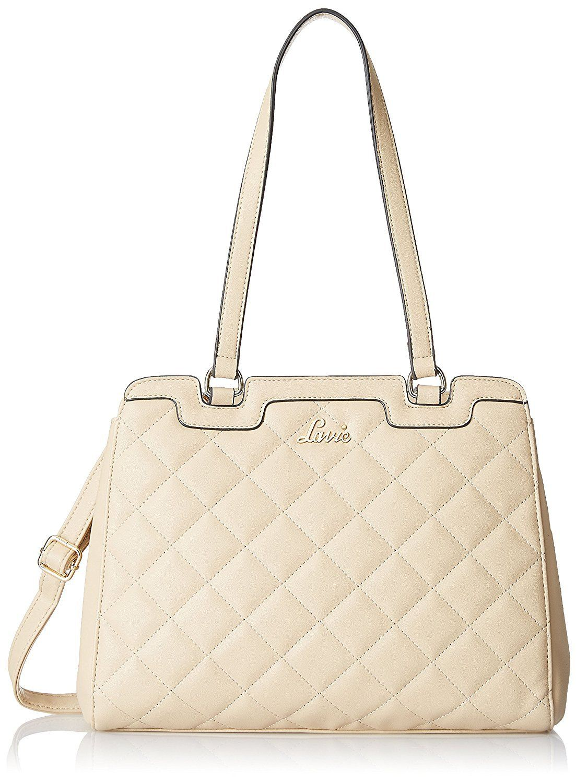 652a2c94f40b Online deal for Lavie Makrana Women s Handbag (Beige)