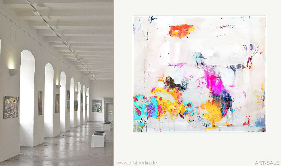 kunstgalerie grunden geschaftsidee echte kunst verkaufen moderne bilder ölgemälde modern rahmen