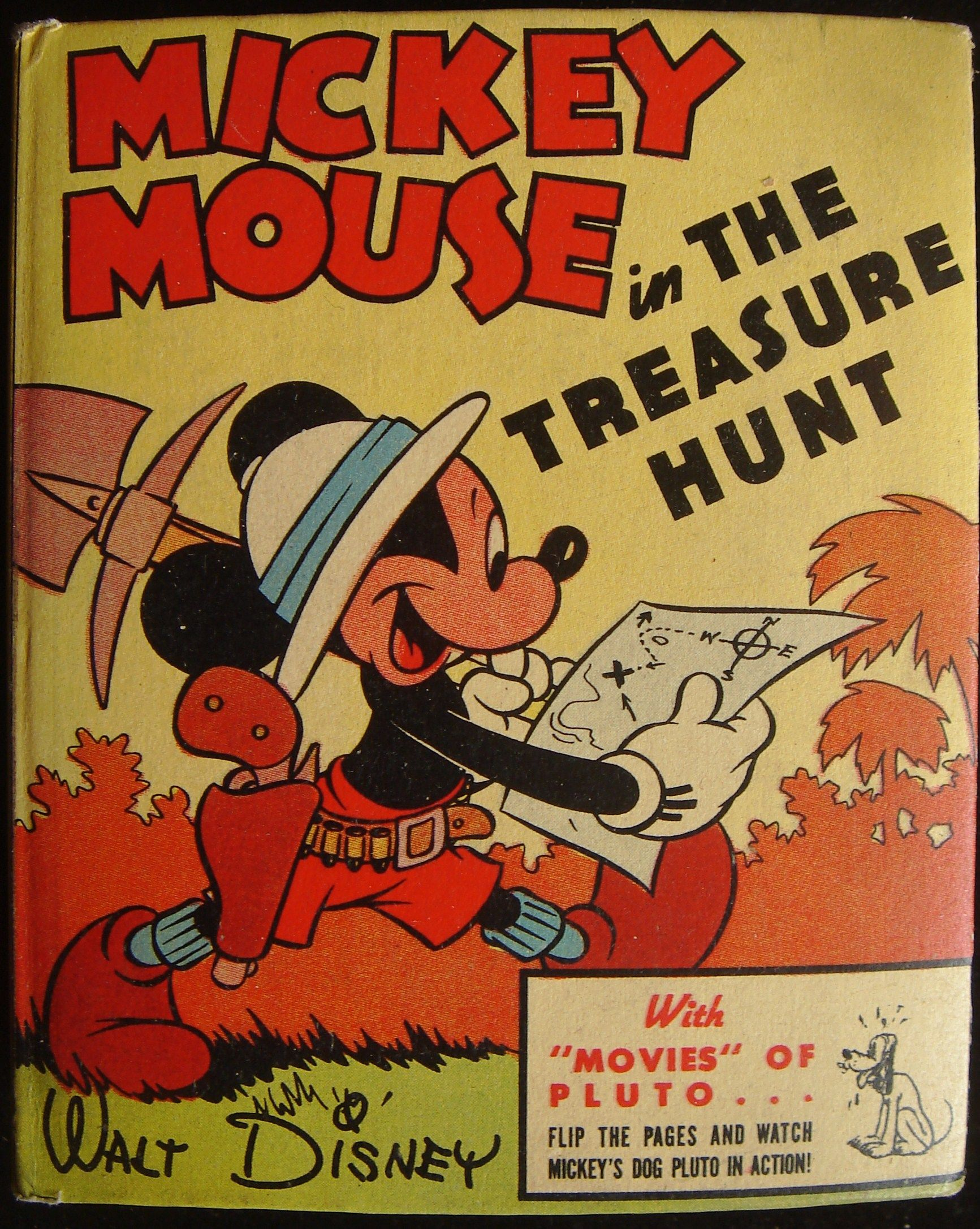 Mickey Mouse in The Treasure Hunt. Better Little Books
