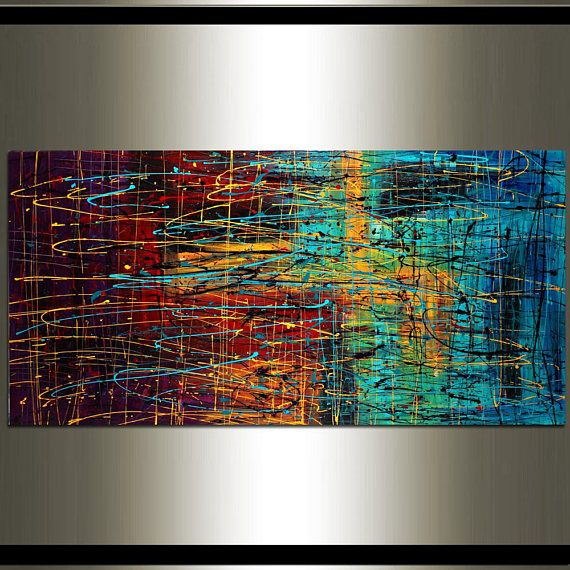 Largeartwork Collection   Decorate Your Home Or Office With Original,  Large, Abstract, Oil