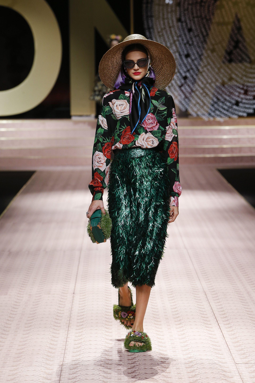 ba5775f24d64 Dolce amp Gabbana Spring Summer 2019 Women s Fashion Show.  DGDNA   DGWomenSS19  DolceGabbana