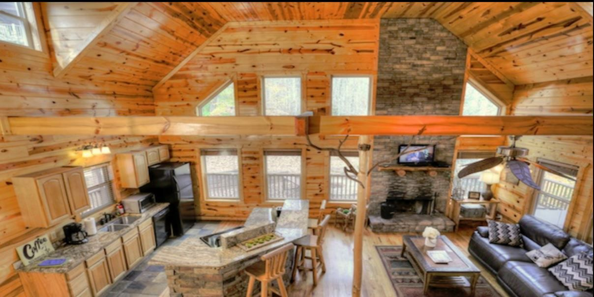 What Are You Doing For Your Summer Vacation Cedar Creek Cabin Rentals Has The Best Properties In The Helen Ga Area At Aff Cabin Cabin Design Romantic Cabin