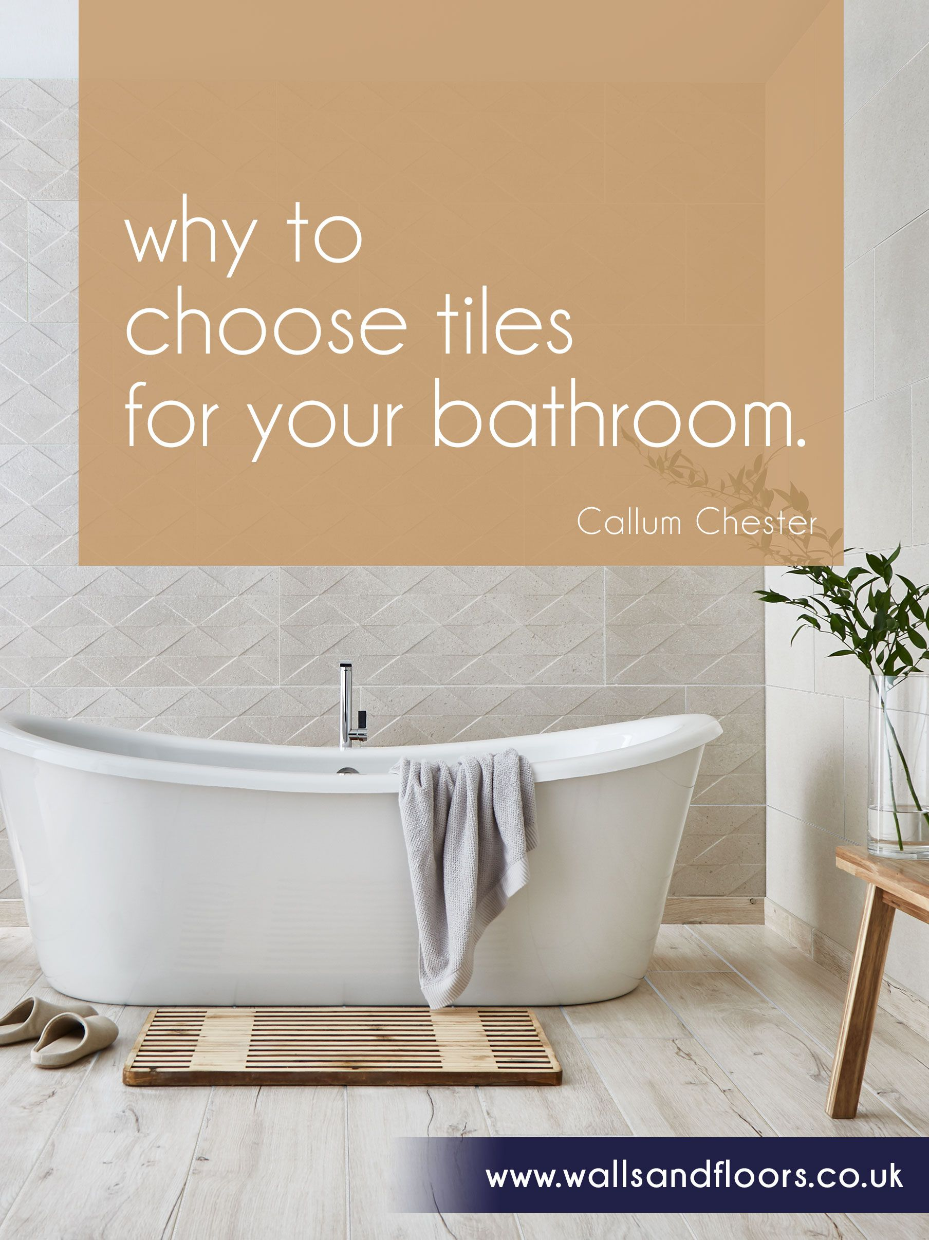 Free EBook: Why To Choose Tiles For Your Bathroom. Planning An Interior  Makeover,