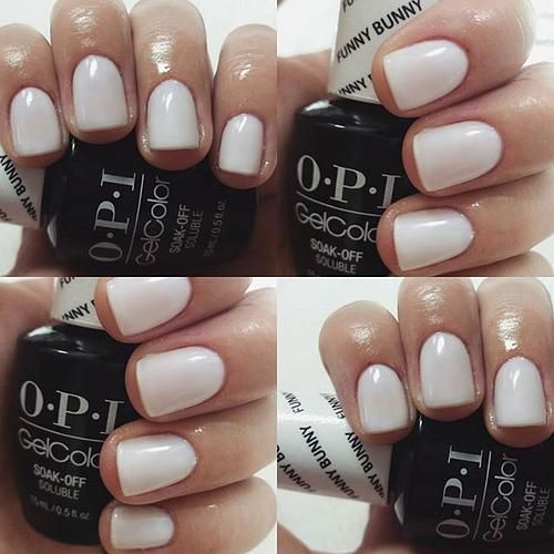 A Soft White Nail Polish That S Irresistibly Sweet Funny Bunny 0528009207 Funnybunny Opi Content Shared Via Opiproducts Inspiration Gallery