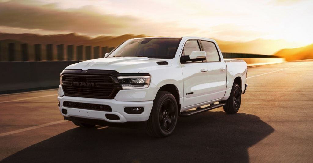 2020 Ram 1500 Night Edition Is A Stylish Blacked Out Truck Dodge Ram Dodge Ram Sport Dodge Ram 1500