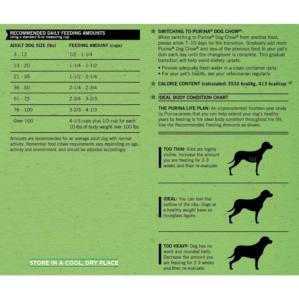 Purina Dog Chow Complete Adult Dog Food 20 Lb Bag Click Image