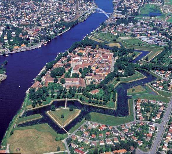 Fredrikstad City Norway This Is Where My Family Lived In
